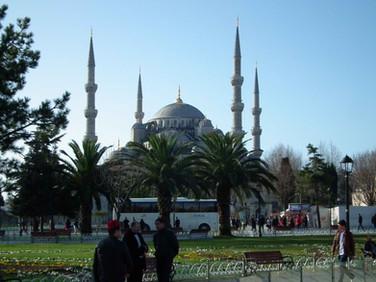Vista da Mesquita Azul - Istambul - Turquia