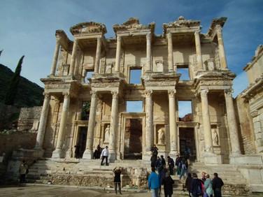 Grupo Êxodo 2013 nas ruinas da cidade de Éfeso - Turquia - Roteiro das 7 Igrejas da Ásia
