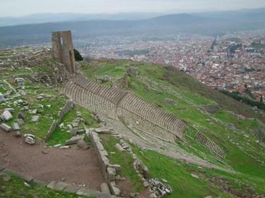 Grupo Êxodo 2013 nas ruinas da cidade de Pérgamo - Turquia - Roteiro das 7 Igrejas da Ásia