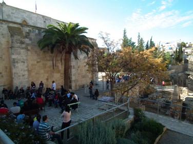 Ministração no Tanque de Betesda - Local onde Jesus fez milagres - Jerusalém - Israel