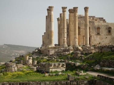 Ruinas da cidade de Jerash (Gerasa), uma das cidades da Decápolis - Amman - Jordânia