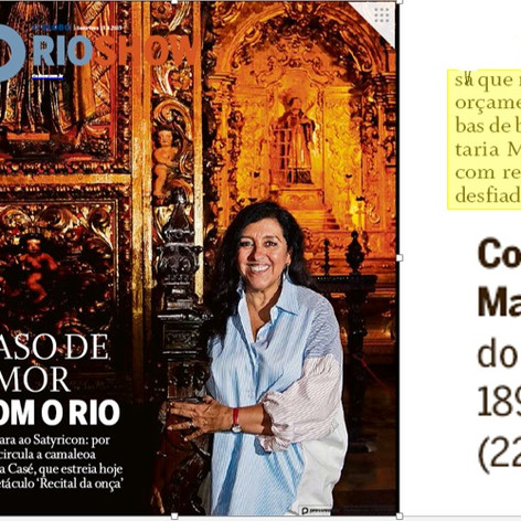 O Globo Rio Show Confeitaria Manon 19 de