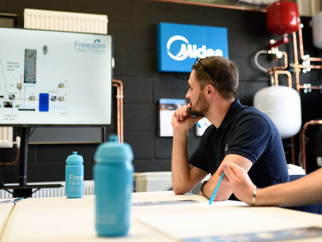 Heat pump training: Upskilling installers is key to meeting government's target