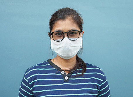 How to stop your glasses from steaming up while wearing a mask