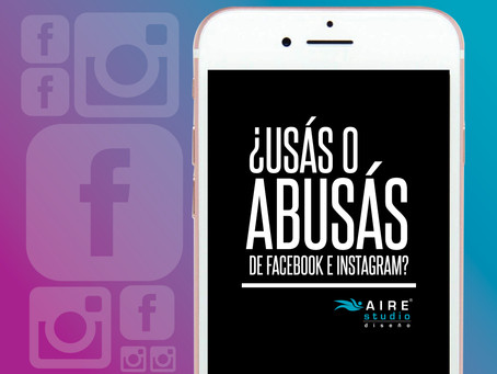 ¿Usás o abusás de Facebook e Instagram?