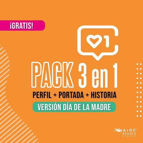 Pack 3 en 1 (Versión Día de la Madre)