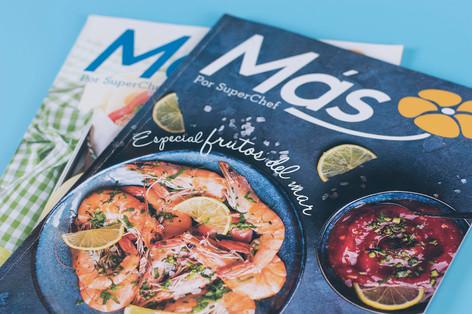 Revista Más para Chef Rafael