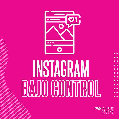 Instagram Bajo Control