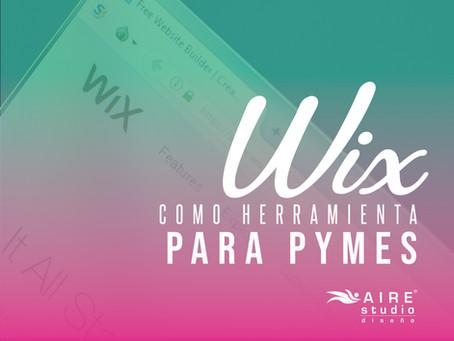 Wix como herramienta para Pymes