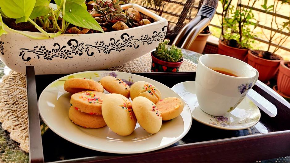 Eggless Butter Cookies