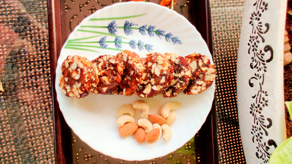 Khajur  Dry Fruit Roll