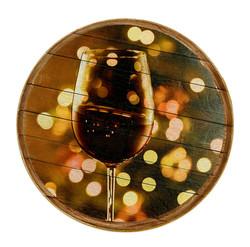 הדפסה על חבית יין + לכה