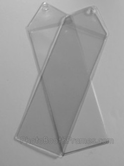 2x6 clear bookmark