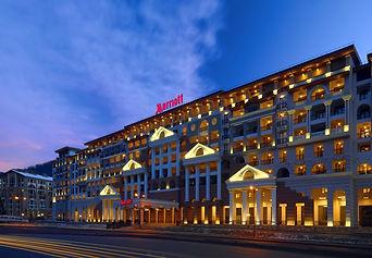 Марриотт отель | Красная поляна | гостиницы | горки город