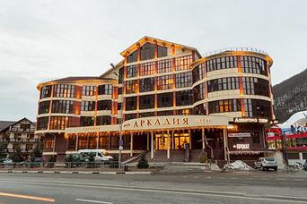 Аркадия | отель | Красная поляна | Горки город | Роза хутор | отель