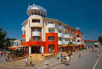 Альбатрос | отель | Анапа | центр | цены | официальный сайт Арго
