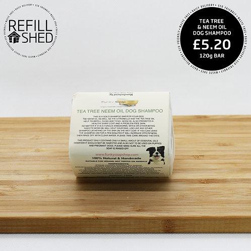 Funky Soap Dog Shampoo - Tea Tree & Neem Oil