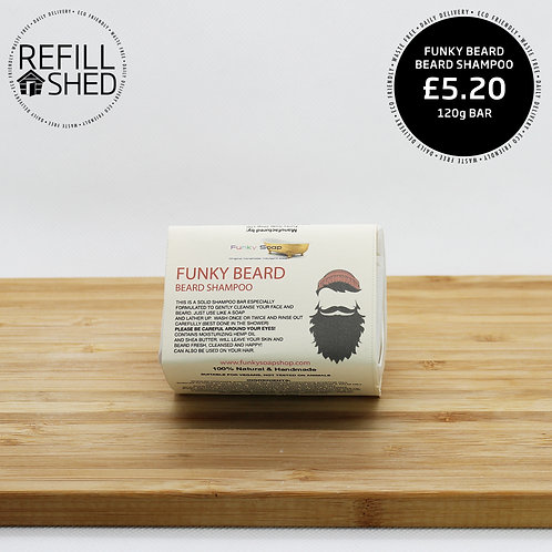 Funky Beard Shampoo Bar