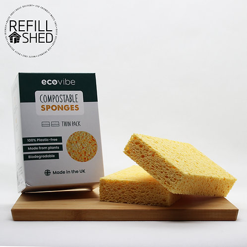 Compostable Sponges (Pack of 2)
