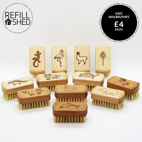 Wooden Kids' Nailbrush
