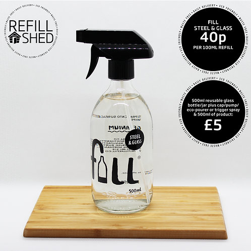 FILL - Steel & Glass Cleaner