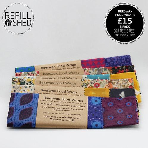 Beeswax Food Wraps - Various Designs