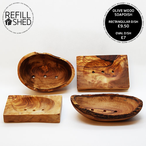 Olive Wood Soapdishes