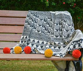Aztec Throw Blanket