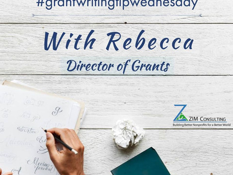 Don't Just Write Grants. Create a Grant Strategy!