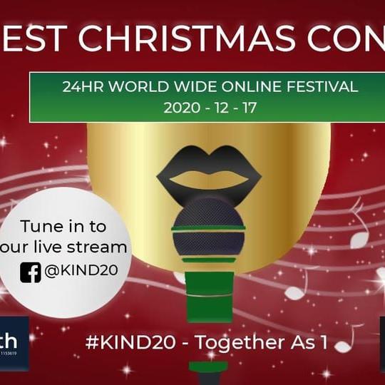 KINDEST CHRISTMAS FESTIVAL ONLINE EVENT