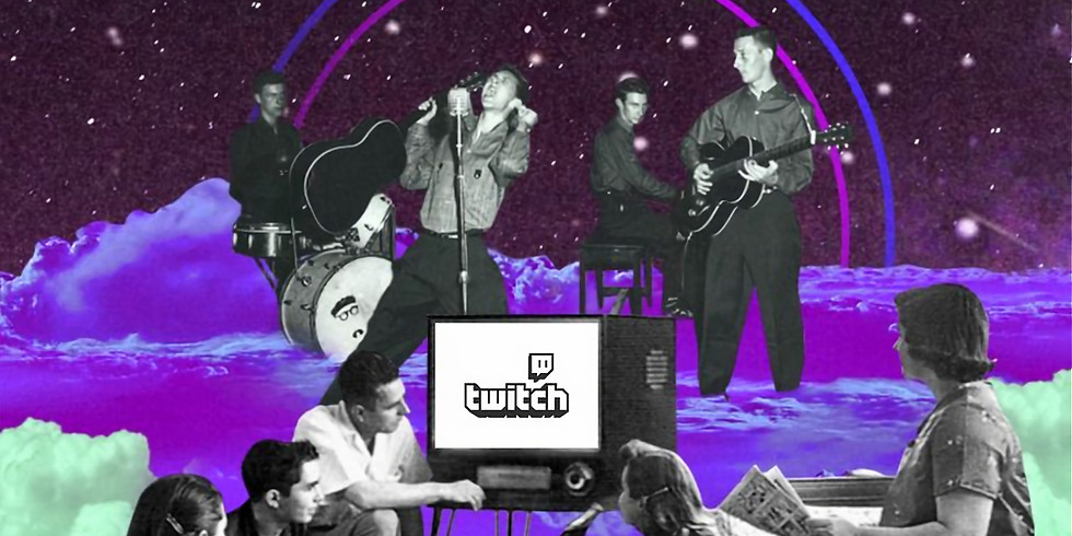 ANTONIA GRACE on GigMit Twitch TV channel : https://www.twitch.tv/gigmit