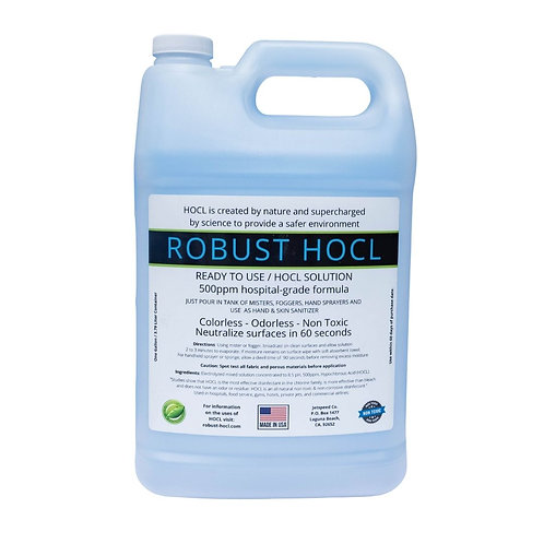 ROBUST-HOCL 500ppm Ready-to-use Solution