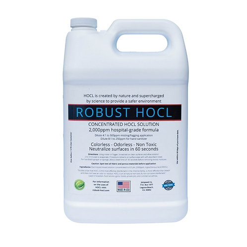 ROBUST HOCL Concentrated At 2000ppm