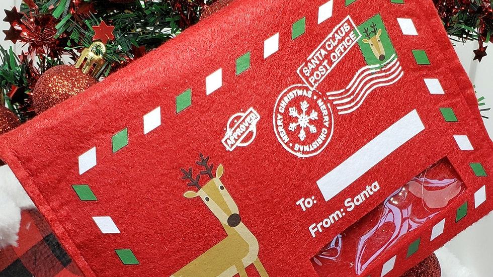Letters To Santa  Pineapple Rings - Red Envelope