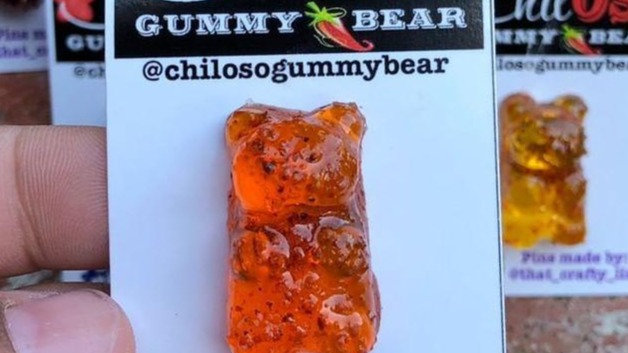 ChilOSO Gummy Bear Pins