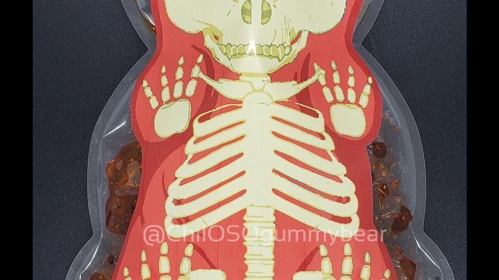 Skeleton Gummy Bear Bag