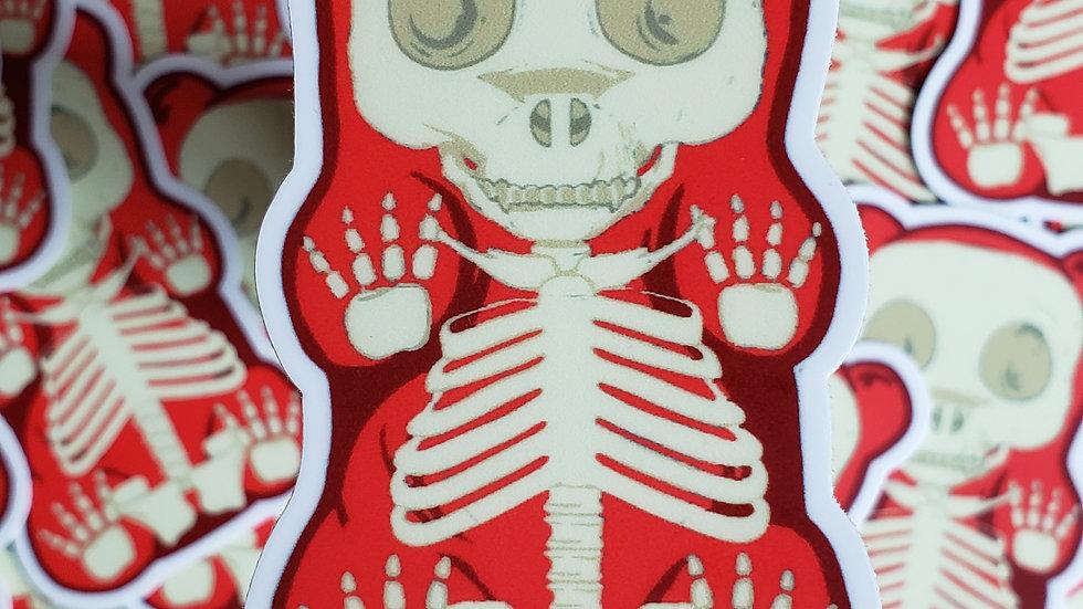 Vinyl Skeleton Stickers