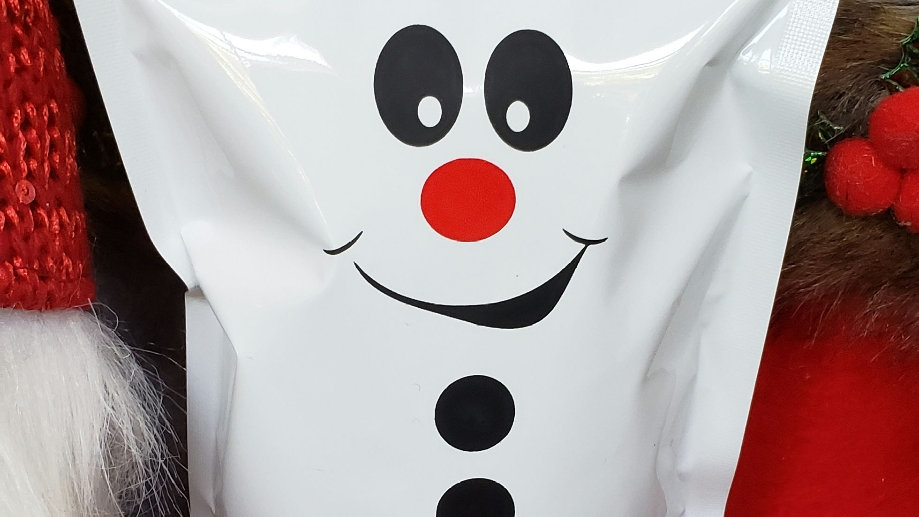 Snowman Christmas Pouch