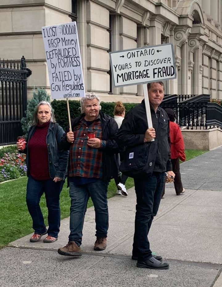 VOSMI Protest