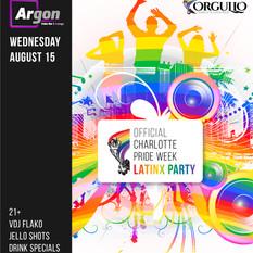 Orgullo - Instagram: Pride Week Latinx Party