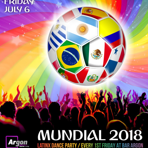 Orgullo - Instagram: Mundial Party