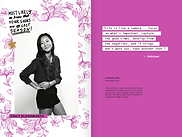 Freak Show 2014 Yearbook page sample 3
