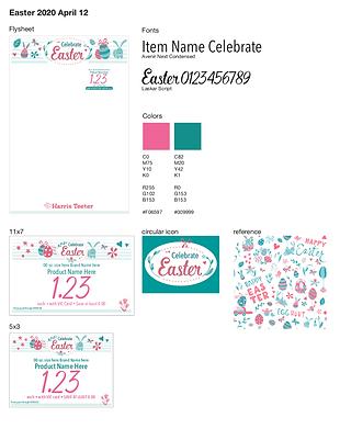 Easter 2020 Moodboard