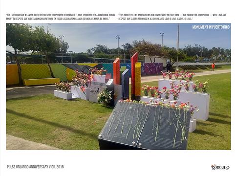 Pulse memorial piece