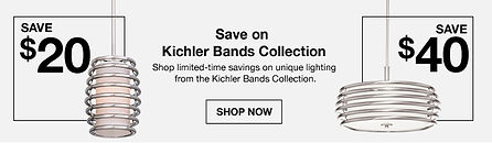 Banner sample of Kichler lighting
