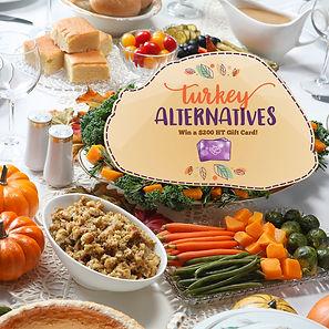 Turkey Alternatives #2 for FB/IG