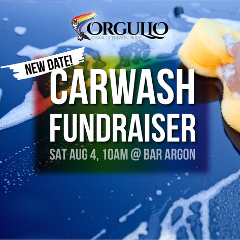 Orgullo - Instagram: Carwash Fundraiser