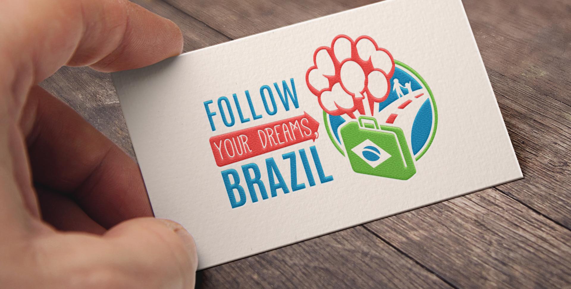 Original Logo: Follow Your Dreams Brazil