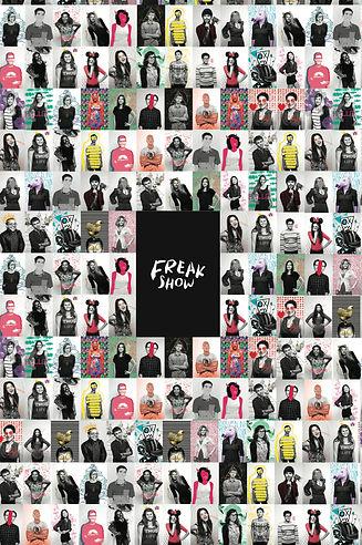 Freak Show Gallery map back