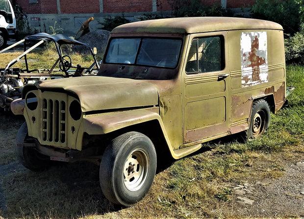 1950 JEEP panel truck